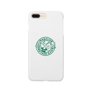 緑のマジシャンもやしくん Smartphone cases