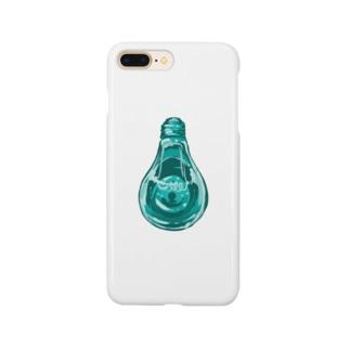 ブロンズ電球 Smartphone cases