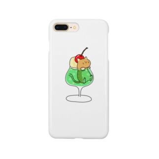 メロンソーダのネコ🐈 Smartphone cases