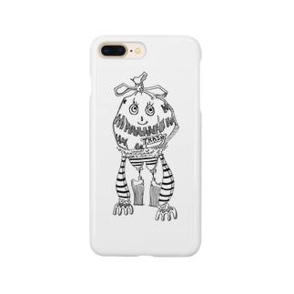 TRASH子 Smartphone cases