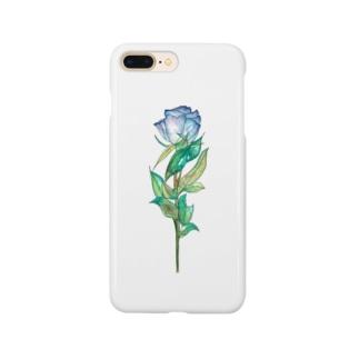 青薔薇 Smartphone cases