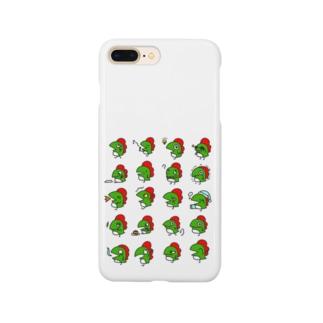 かいじゅうくんいろいろ Smartphone cases
