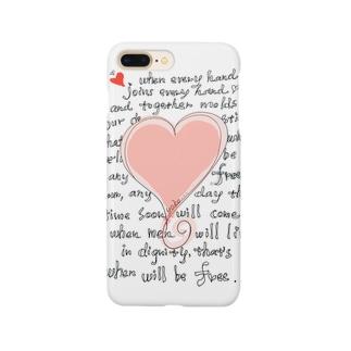 feel-free-Heart Smartphone cases