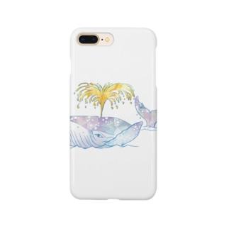 昭島の銭湯のクジラ Smartphone cases