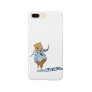 kuma surf (10) Smartphone cases