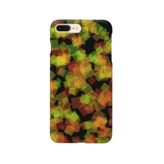Red&Green_Square Smartphone cases