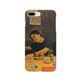 名画「JavaScriptのthisを教えるpastak」 Smartphone cases