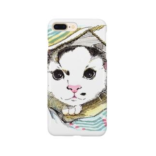 ブランケット猫 Smartphone cases