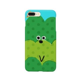 お茶畑くん Smartphone cases