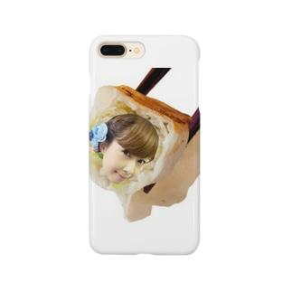 つまみに餃子成美 Smartphone cases