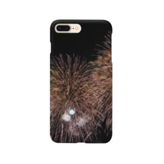 花火フォトクローズ Smartphone cases