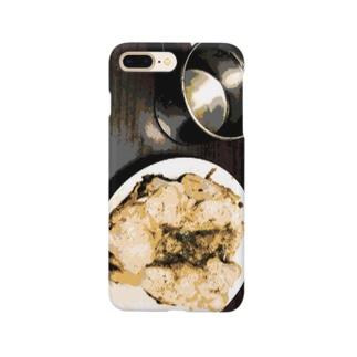 肉とカップ Smartphone cases