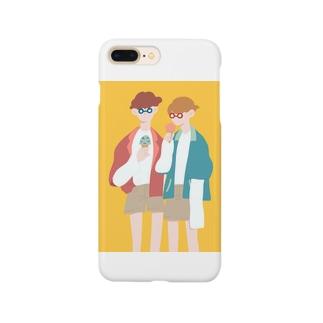 イエローサマー Smartphone cases