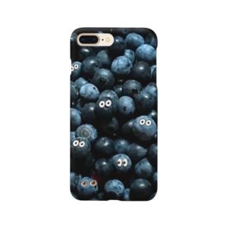 ブルーベリーisブルーベリー Smartphone cases