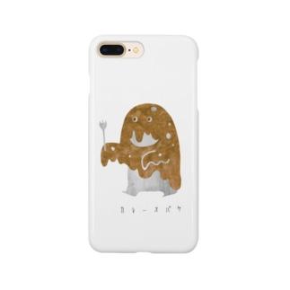 カレーオバケ Smartphone cases