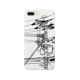 電柱 Smartphone cases