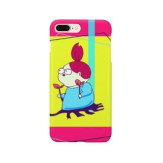 考える葦(あし) Smartphone cases