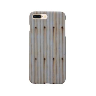 壁、トタン、錆 Smartphone cases