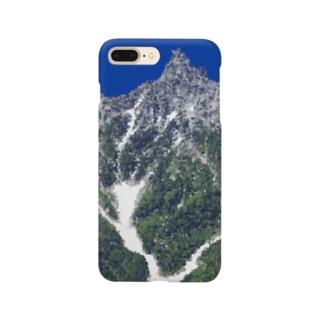 槍ヶ岳 Smartphone cases