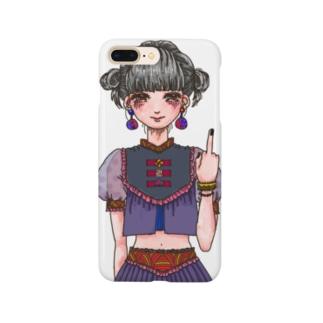 チャイナがーる Smartphone cases