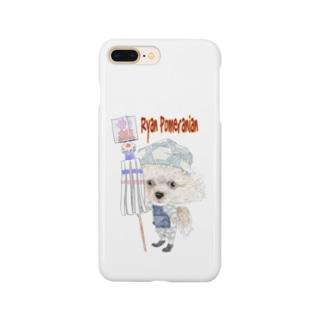 ライアン-ポメラニアン Smartphone cases