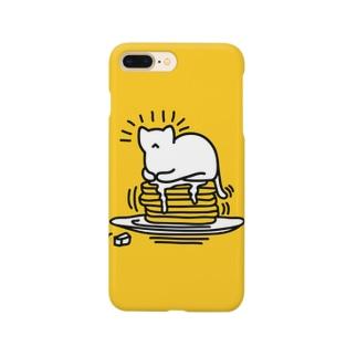 パンケーキネコ Smartphone cases