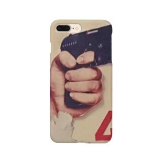 ピストルと4 Smartphone cases