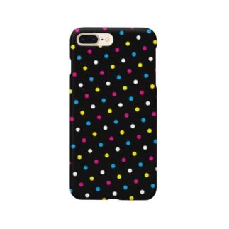 CoLoR HaLFToNe -Black- Smartphone cases