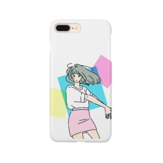 ミニスカポップ Smartphone cases