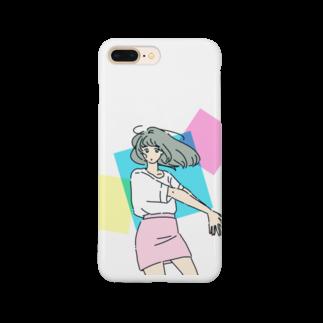 マキノノマのミニスカポップ Smartphone cases