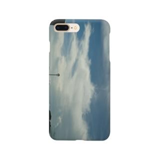 平成最後の8/15の空 Smartphone cases