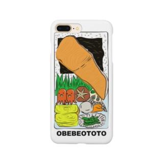 大きな焼き鮭海苔弁当 Smartphone cases