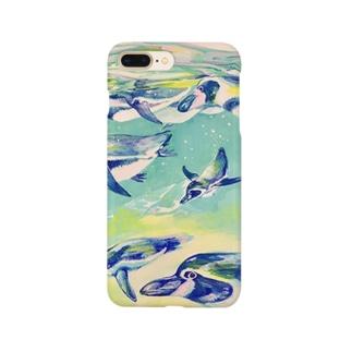 ペンギン・ジェット Smartphone cases