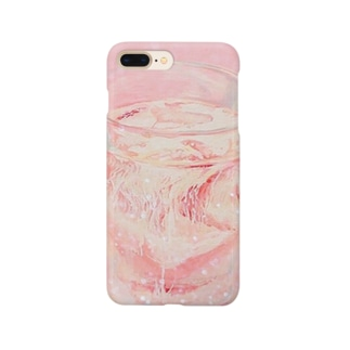 Dripping milk Smartphone cases