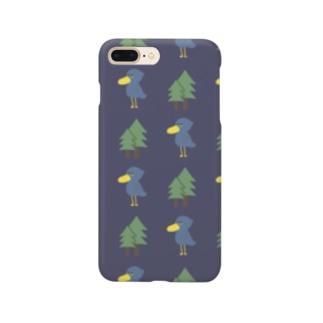 ハシビロコウ Smartphone cases