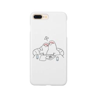 [BUNNNKO CAFE ] コザクラインコ Smartphone cases