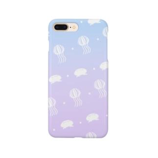 宇宙くらげ Smartphone cases