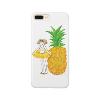 パイナップルガール Smartphone cases