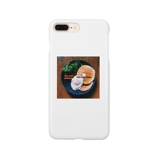 まるでニューヨーカーの朝食 Smartphone cases