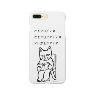 mikepunchの読書猫 Smartphone cases