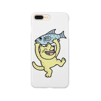 お魚ゲット~♪ Smartphone cases