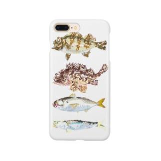 ギョギョギョ魚 Smartphone cases