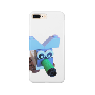 makiakiのレゴねずみ Smartphone cases
