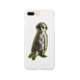ミーアキャットのピノちゃん Smartphone cases
