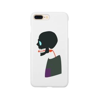 愛を叫ぶドクロ Smartphone cases