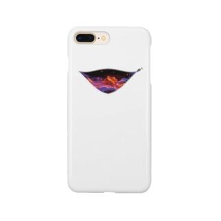 ファスナーグラフィック Smartphone cases