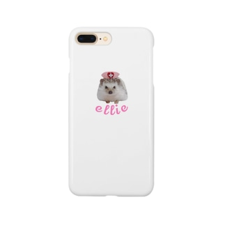 ハリネズミのellie Smartphone cases