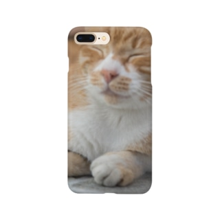 ウトウトしてる猫 Smartphone cases