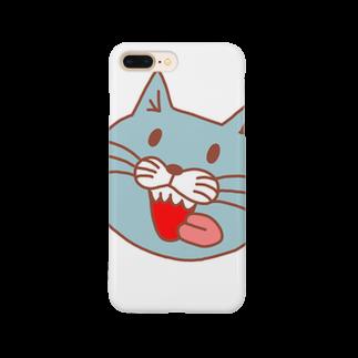 ファッション武芸帳 表参道店のDXにくねこ Smartphone cases