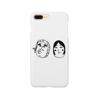 おまつり夫妻 Smartphone cases